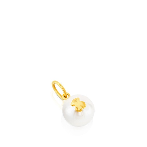 Gold Sweet Dolls Pendant with pearl