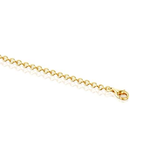 Silver Vermeil Fragile Nature flowers Necklace