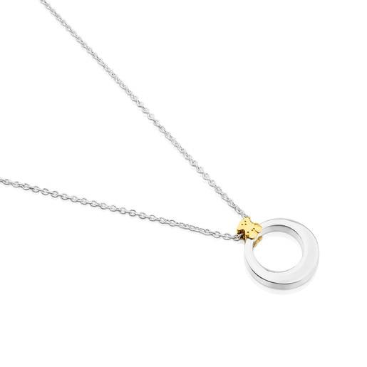 Silver and Vermeil Silver Origen Necklace