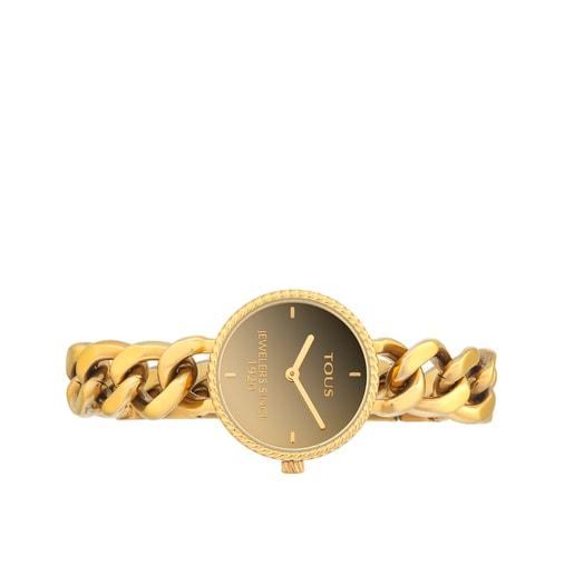 Ρολόι Minne από Επιχρυσωμένο Ατσάλι