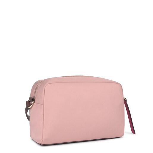 Medium pink Shelby Crossbody bag