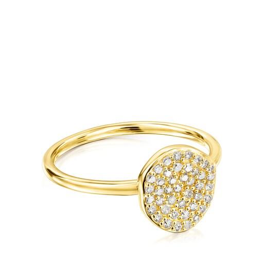 Δαχτυλίδι Nenufar από Χρυσό με Διαμάντια