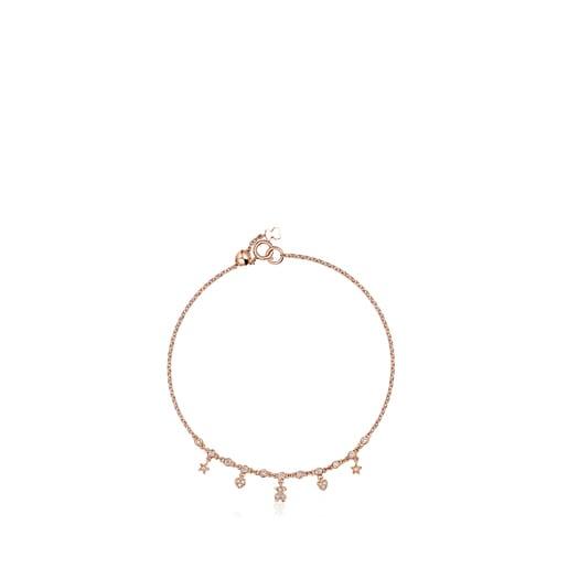 Pulsera Les Classiques de Oro rosa con Diamantes