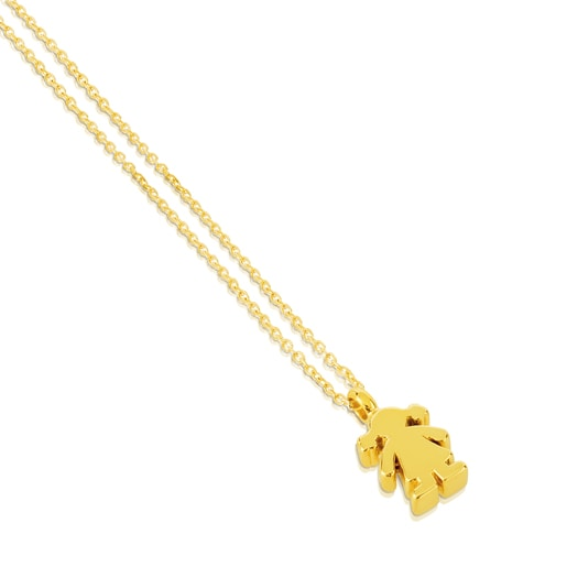 Collar Sweet Dolls de Oro motivo Niña