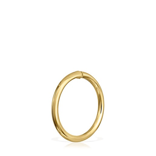Large Gold Hold Ring
