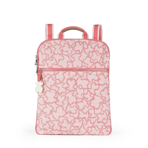 Pink colored Nylon Kaos New Colores Backpack