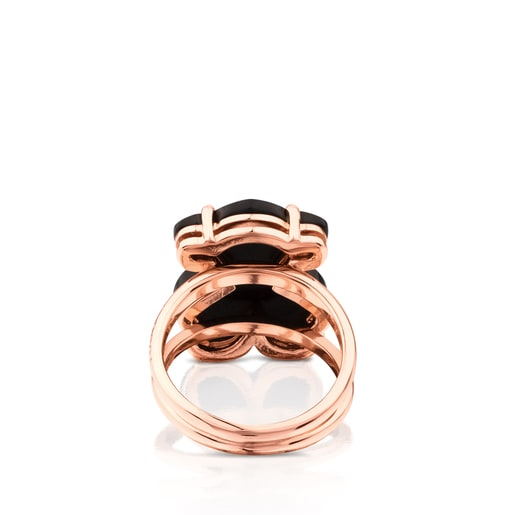 Rose Vermeil Silver Erma Ring