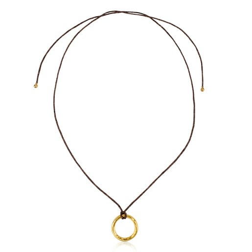 Vermeil Silver Duna Tube Necklace