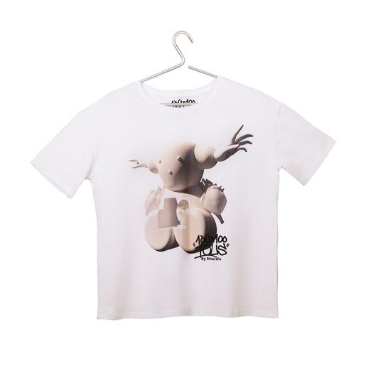 Camiseta Tous Weija Wu blanco