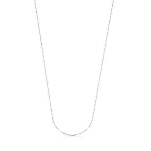 Cadena mediana de plata, 58cm TOUS Chain