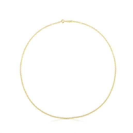 45cm Gold TOUS Chain Choker.