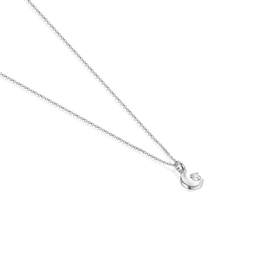 Nocturne Silver Necklace