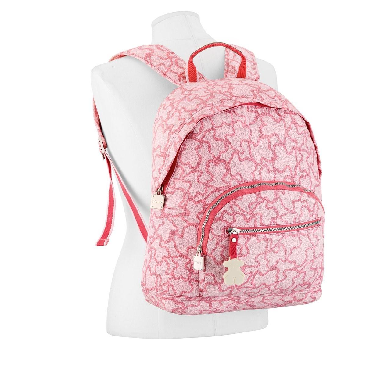 Mochila mediana Kaos New Colores en color rosa