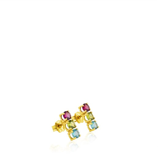 Ohrringe Mix Color aus Gold