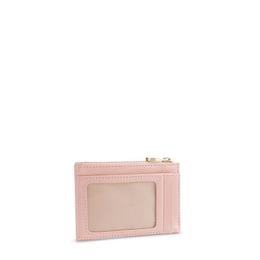 Antique pink Dorp wallet-cardholder