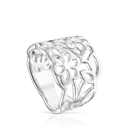 Fine Silver Antic Ring