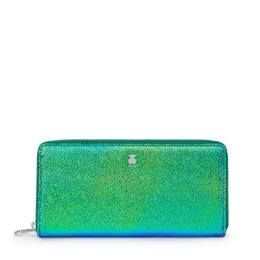 Medium Iridescent Green Dorp Wallet