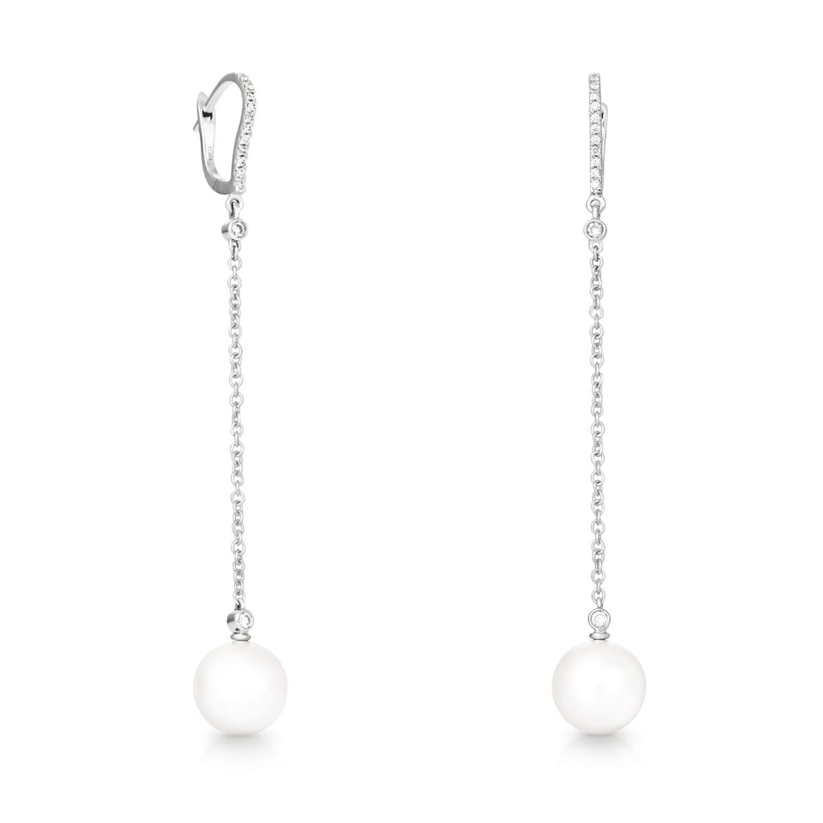 Arracades TOUS Pearls d'Or blanc