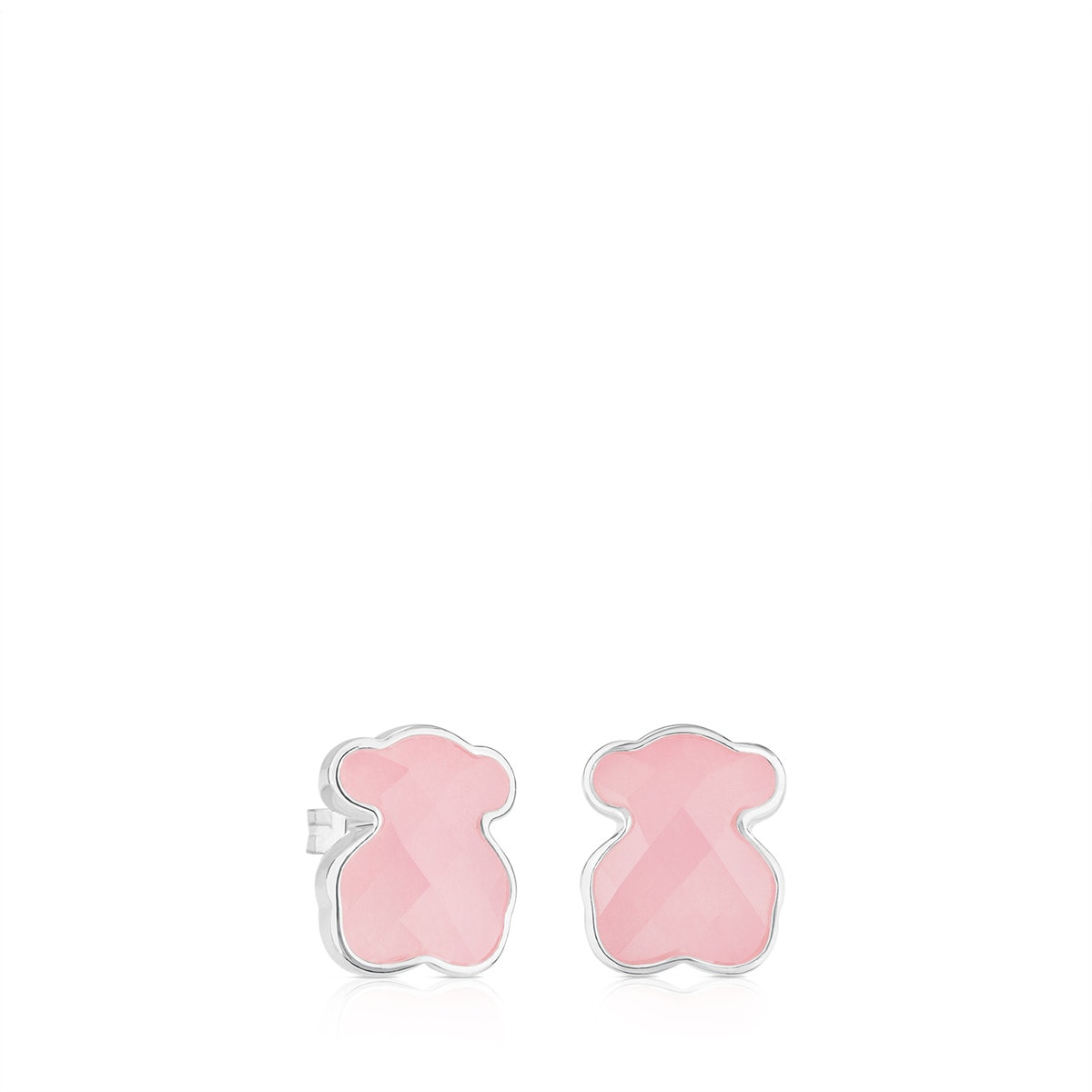 Silver TOUS Color Earrings with Quartz
