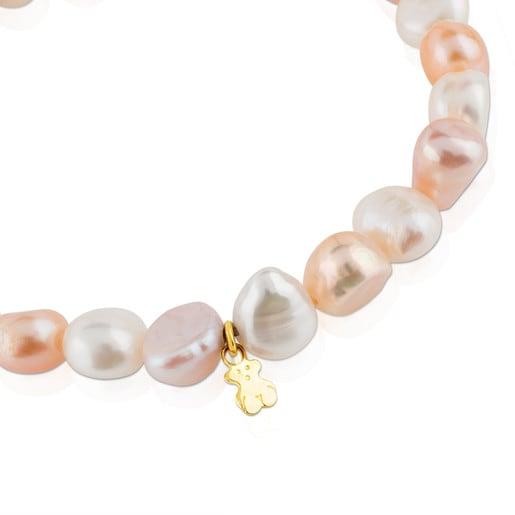 Pulsera TOUS Pearls de Oro y perlas barrocas