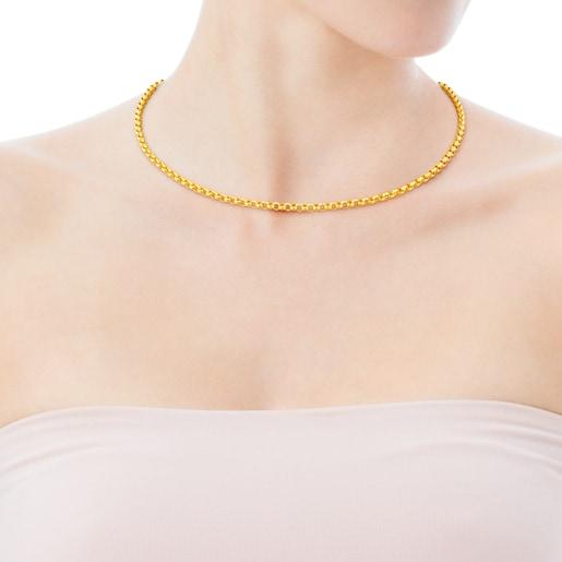Gargantilla TOUS Chain de Oro de 42cm.