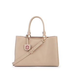 Medium taupe Leather Odalis City bag