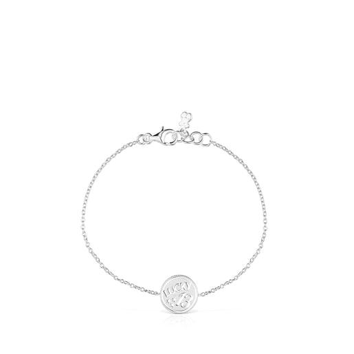 Silver TOUS Good Vibes 13 Bracelet