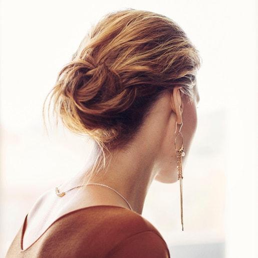 Silver Hold Earrings