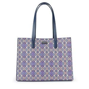 51cbfc6eab513 Lilac Mossaic Square Shopping bag