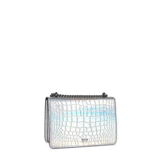 Small iridescent Audree Wild Crossbody bag
