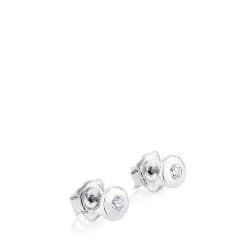 Aretes TOUS Diamonds de Oro blanco con Diamantes