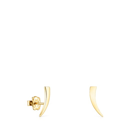 Silver Vermeil TOUS Good Vibes cornucopia Earrings