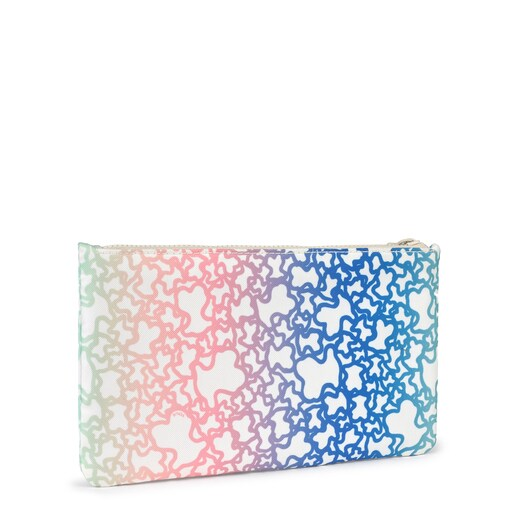 Medium multicolored/sand-colored Kaos Mini Sport Toiletry bag