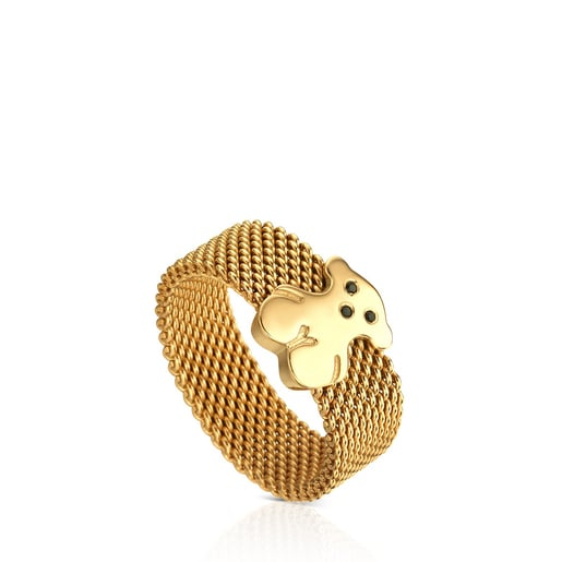 Vermeil Silver Sweet Dolls Ring with Spinel