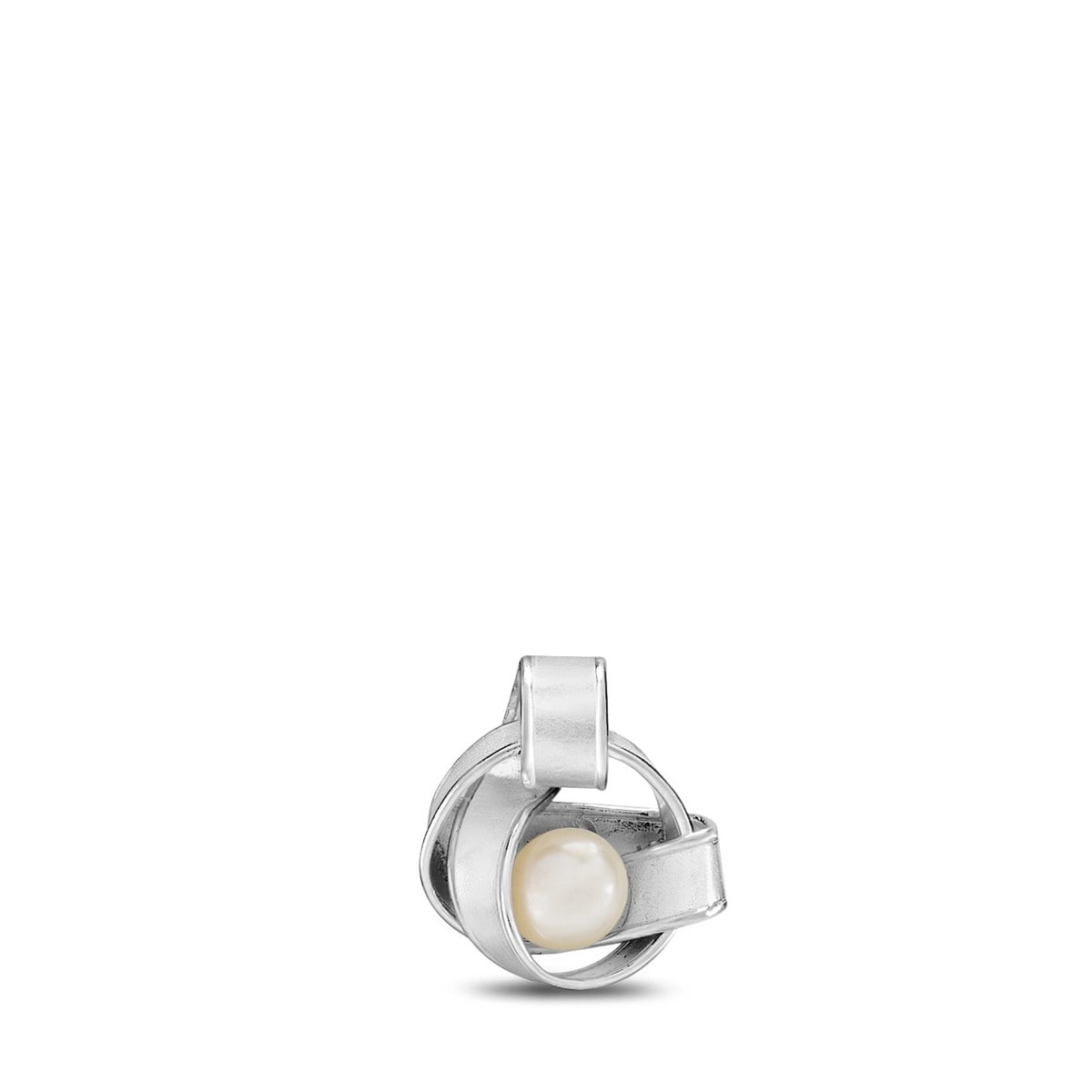 Silver Nostalgic Pendant with Pearl