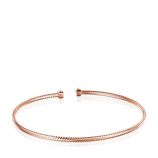 Light Bracelet in Rose Gold with Diamonds