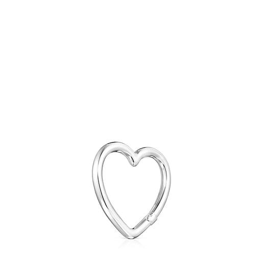 Anilla mediana Hold corazón de Plata