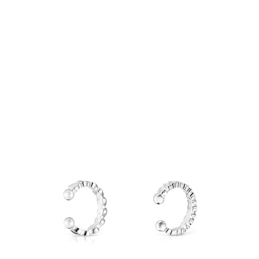 Pack of Silver Straight Earcuffs