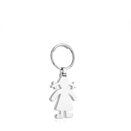 Silver Sweet Dolls Key Ring