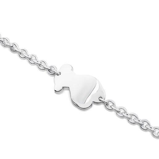 Silver Tack Bracelet