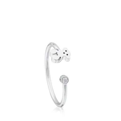 Anillo TOUS Diamonds de Oro blanco