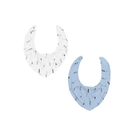 Set dos bandana Luminary Blau Cel