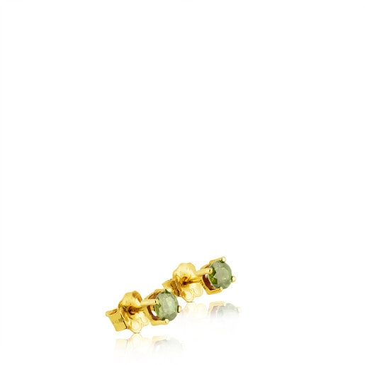 Gold Mix Color Earrings