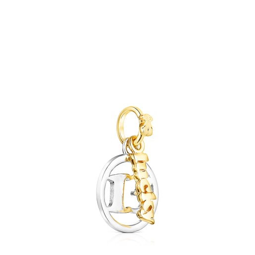 Silver and Silver Vermeil TOUS Good Vibes 13 Pendant