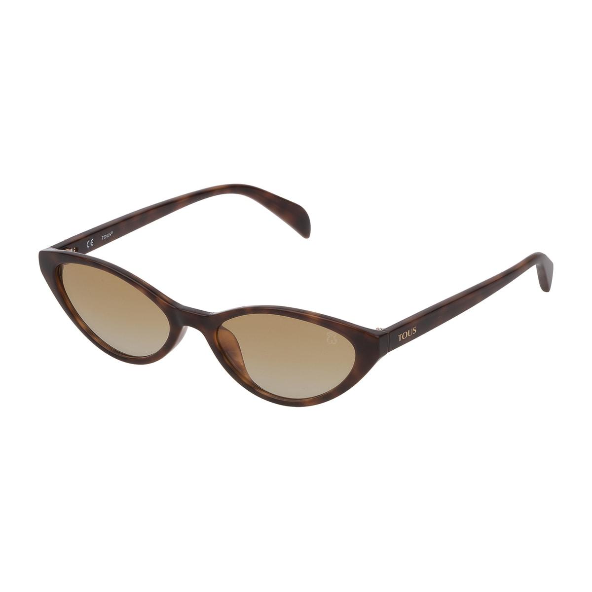 Gafas de sol Bear Cat Eye de acetato en color marrón