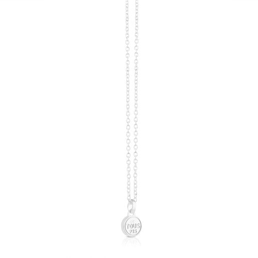 Silver Spot Necklace
