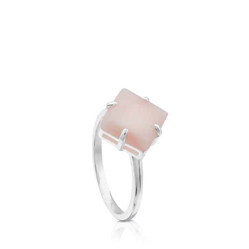 Silver Erma Ring with Opal