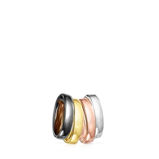 Hold Set mit bunten Ringen