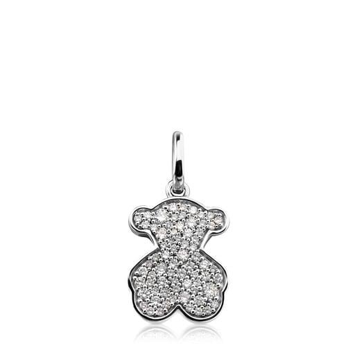 Dije Icon Gems de Oro blanco con Diamantes