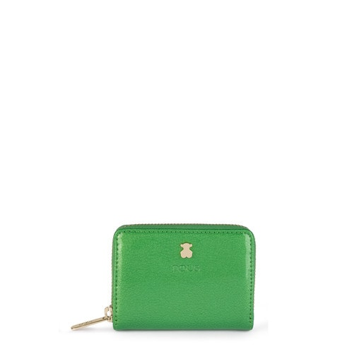 Medium green Dorp Change purse